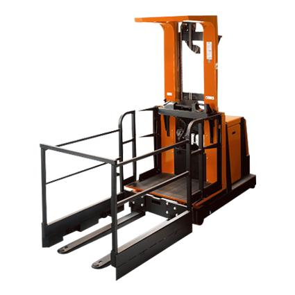 Forklift Sales Compact Order Picker for Congested Medium-level Order Picking Applications – OME100N-OME100NW