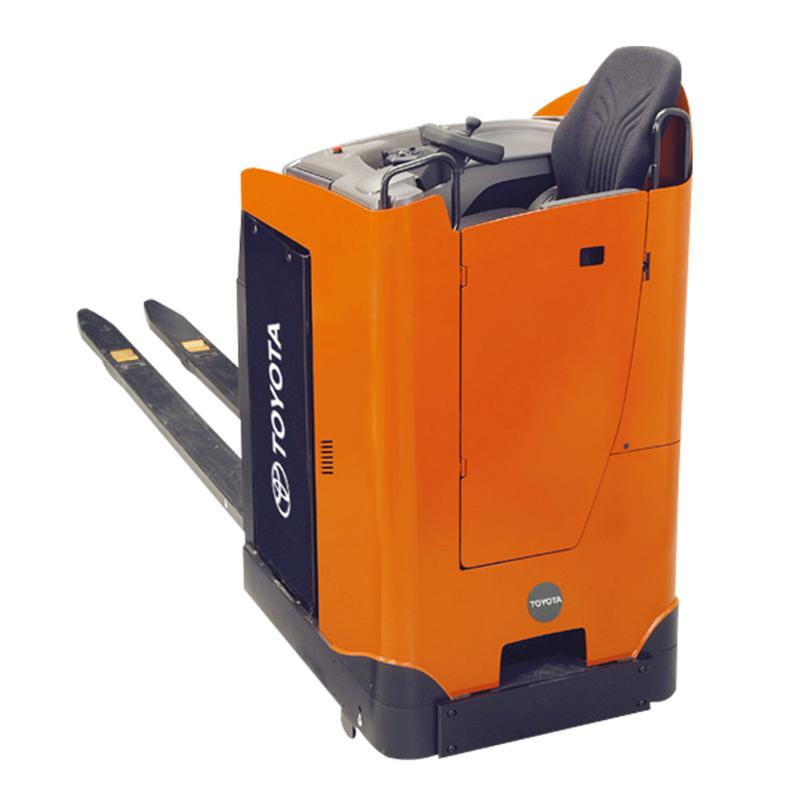 Forklift Sales Compact and Comfortable Stand-in Powered Pallet Truck – LSE200